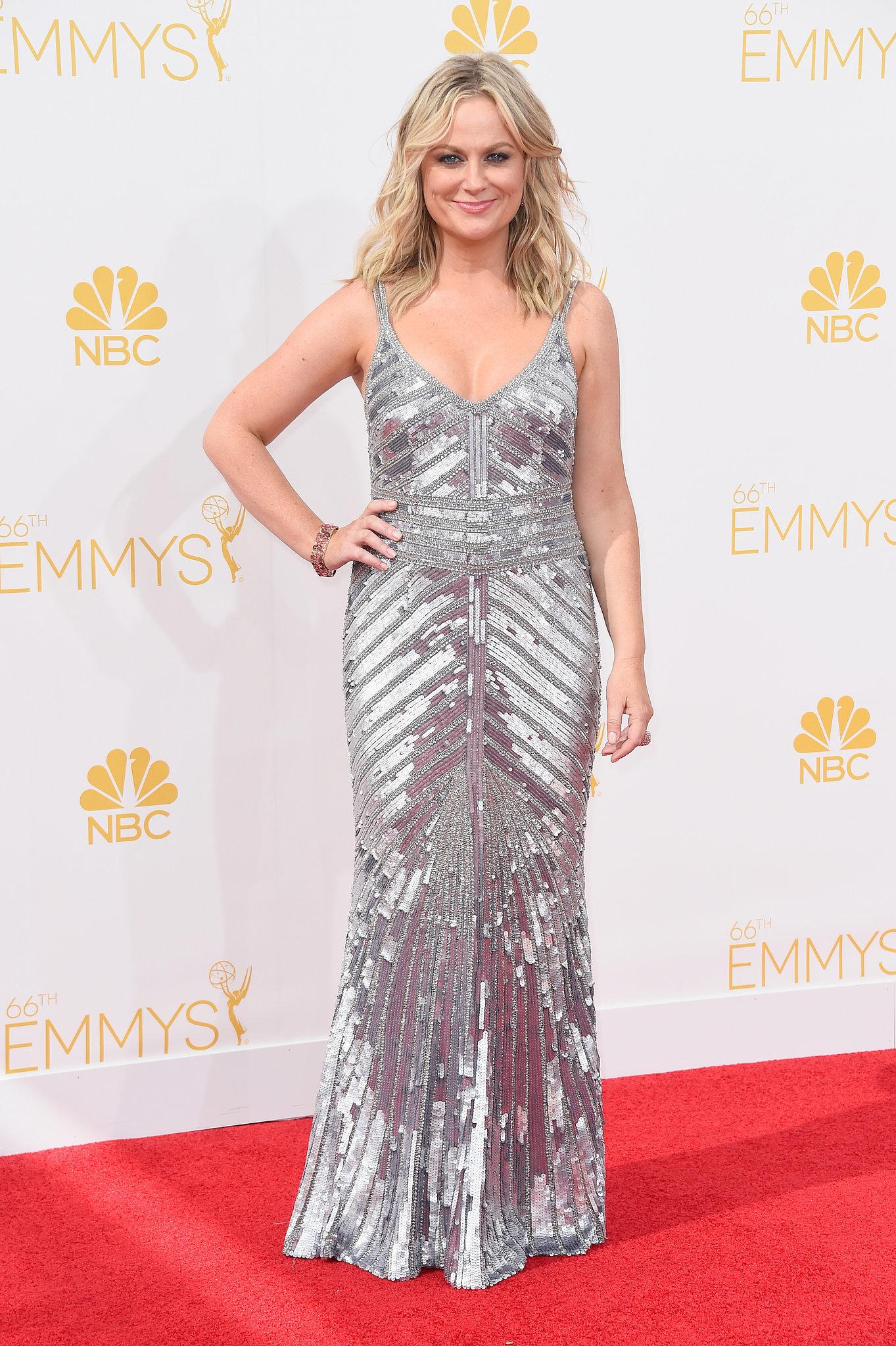 Amy Poehler at the 2014 Emmy Awards