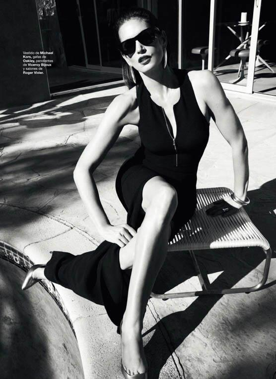 Cindy Crawford in Michael Kors in Harpers Bazaar Magazine
