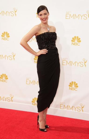Jessica -Pare- In- Lanvin At- The- 2014- Emmy- Awards
