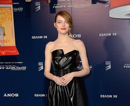 Emma-Stone-Leather-Lanvin-Dress-Spider-Man-2-Premiere-Paris-1
