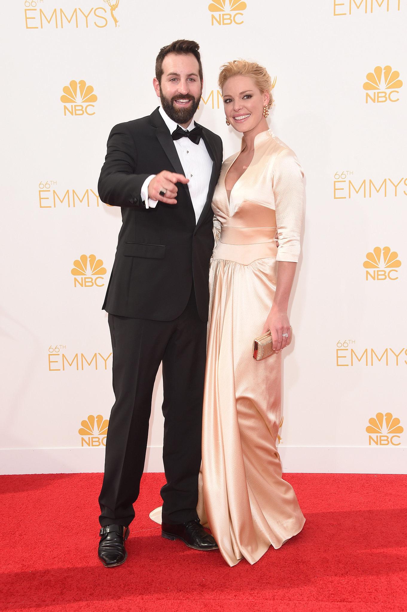 Josh Kelley and Katherine Heigl at the 2014 Emmy Awards