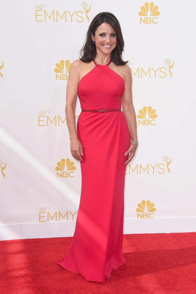 Julia Louis-Dreyfus in Carolina Herrera at the 2014 Emmy Awards