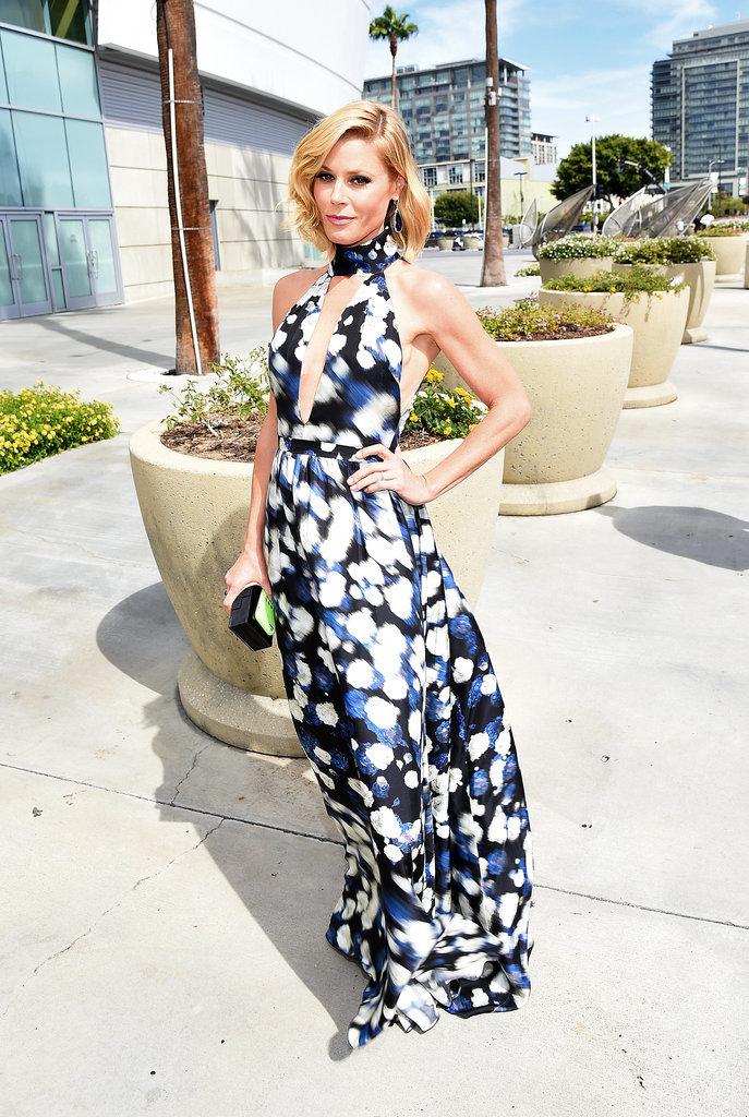 Julie Bowen in Peter Som at the 2014 Emmy Awards