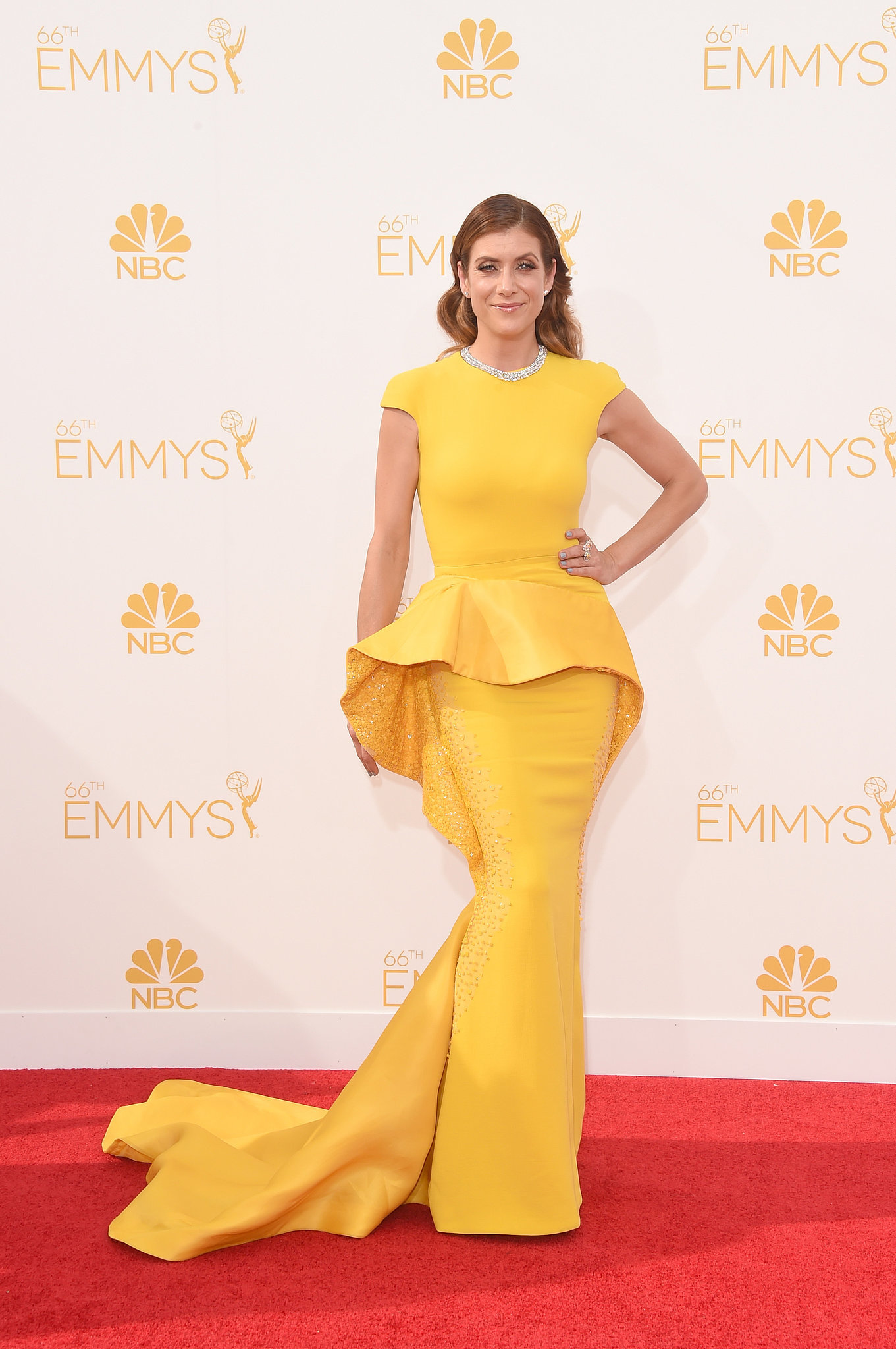 Kate Walsh In Stephane Rolland At The 2014 Emmy Awards