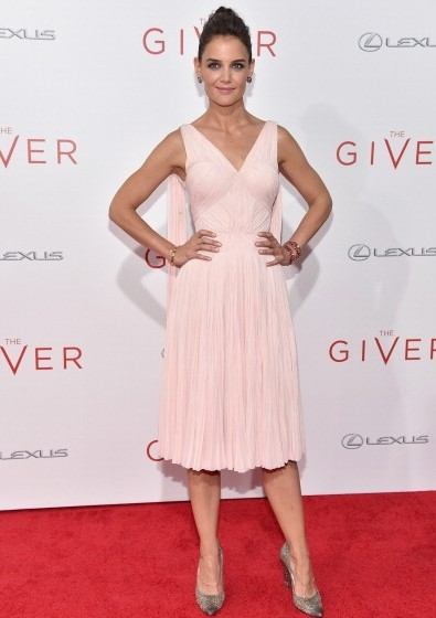 Katie-Holmes-The-Giver-New-York-Premiere-