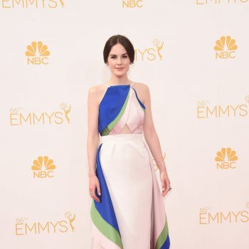 Michelle-Dockery-Rosie-Assoulin-2014-Emmy-Awards