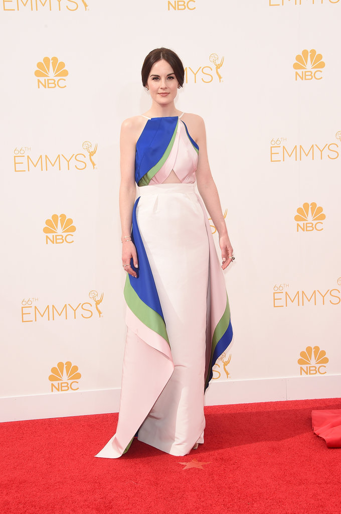 Michelle Dockery in Rosie Assoulin at the 2014 Emmy Awards