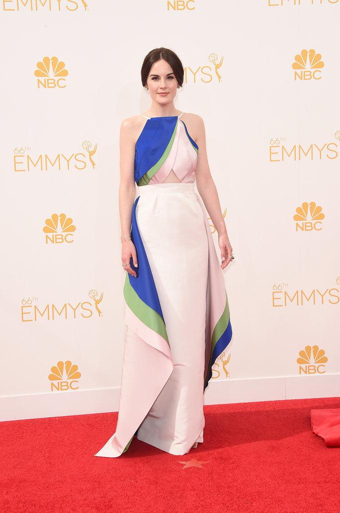 Michelle-Dockery-Rosie-Assoulin-2014-Emmy-Awards