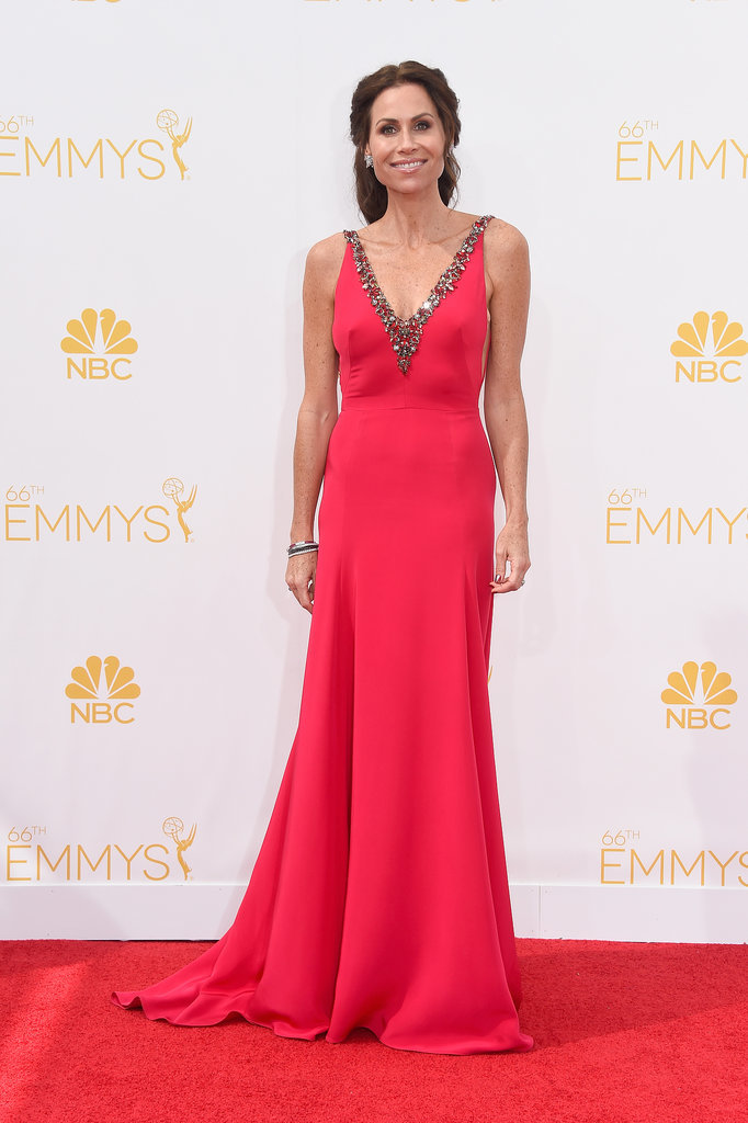 Minnie Driver in Marchesa at the 2014 Emmy Awards