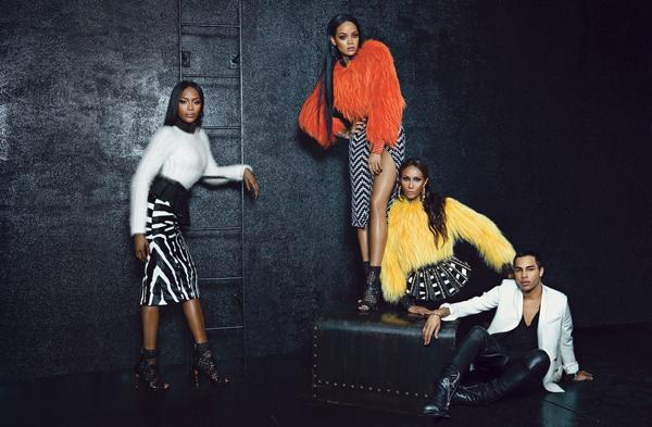 Rihanna-Iman-Naomi-Campbell-Balmain-W-magazine-September-2014-1