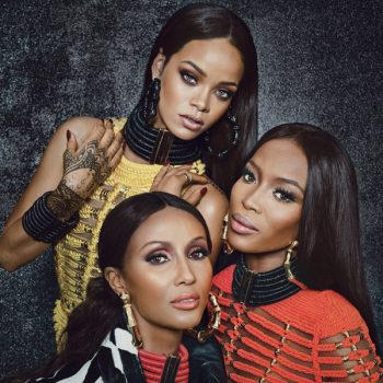 Rihanna-Iman-Naomi-Campbell-Balmain-W-magazine-September-2014-2