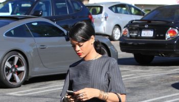 *EXCLUSIVE* Rihanna takes a break from her Monster tour for some BFF time