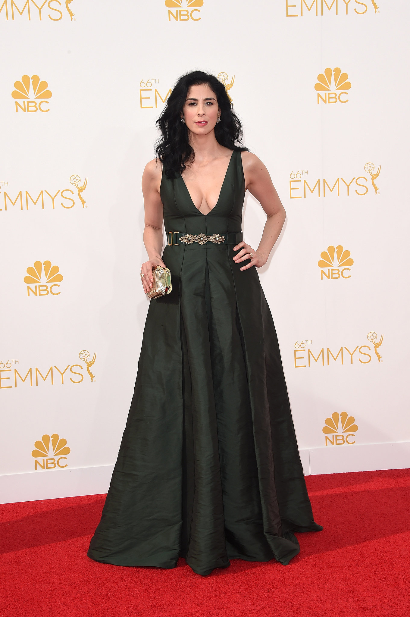 Sarah Silverman 2014 Emmy Awards Sarah Silverman In Marni  At The  2014 Emmy Awards