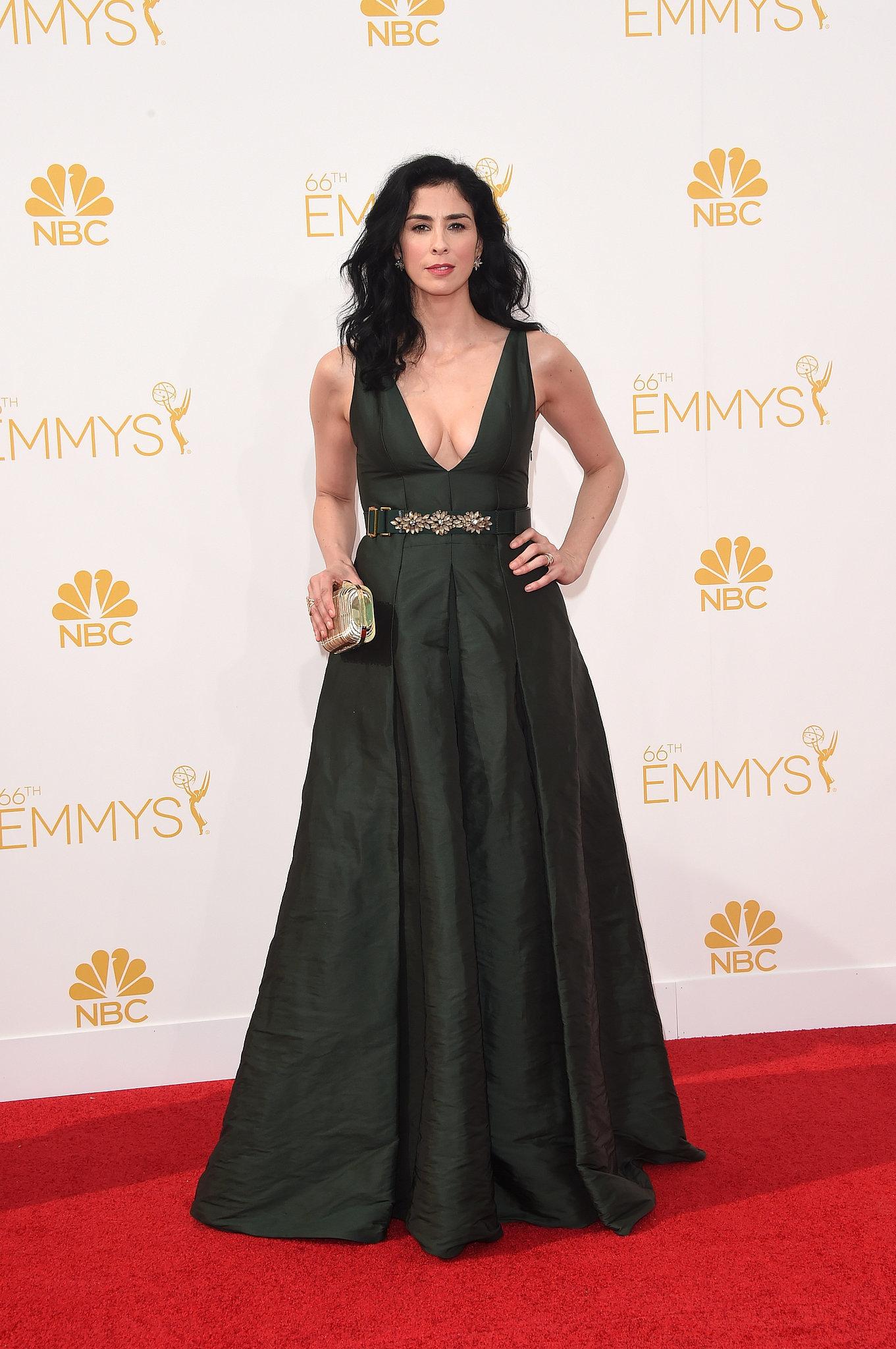 Sarah Silverman at the 2014 Emmy Awards