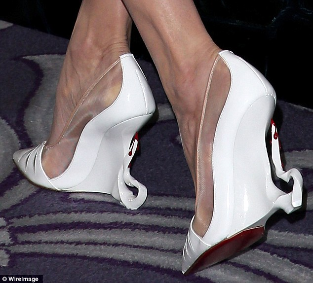 dc2ffa328ed Angelina Jolie collaborates with Christian Louboutin - Fashionsizzle
