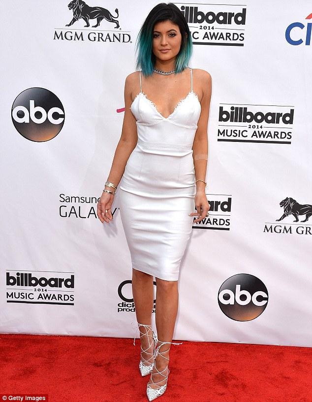Kylie wears Australian designer Alex Perry for the Billboard Music Awards