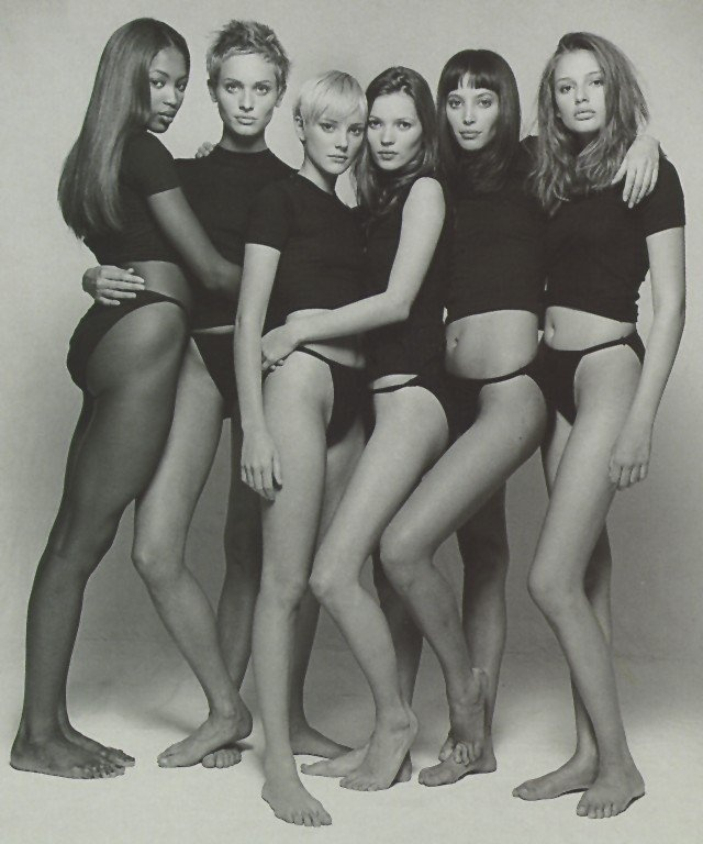supermodels from the '90s