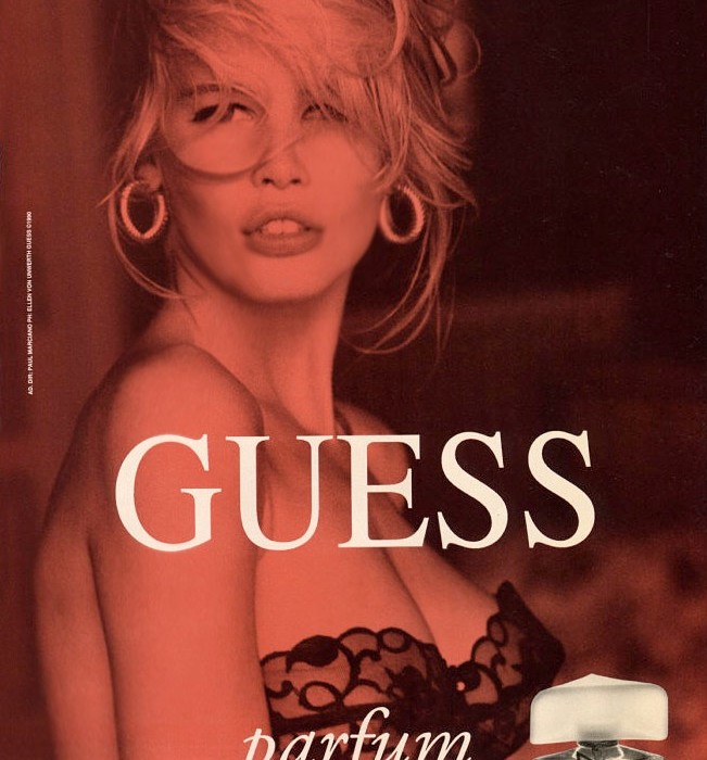 Claudia Schiffer  Vintage Guess Ads
