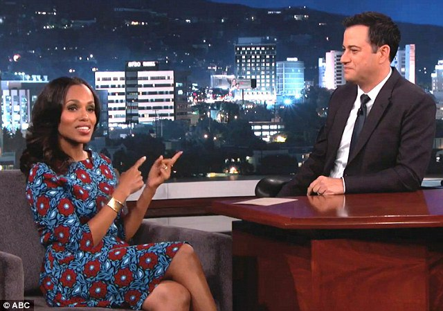 kerry-washington-on-kimmel-wearing- Suno Fall 2014