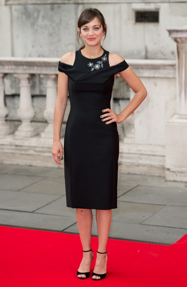 Marion Cotillard In Dior At Two Days One Night Premiere