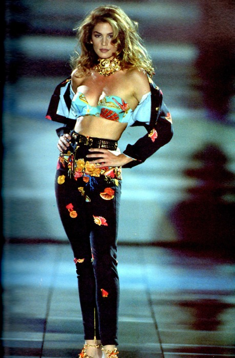 Cindy Crawford, Versace S/S 1992