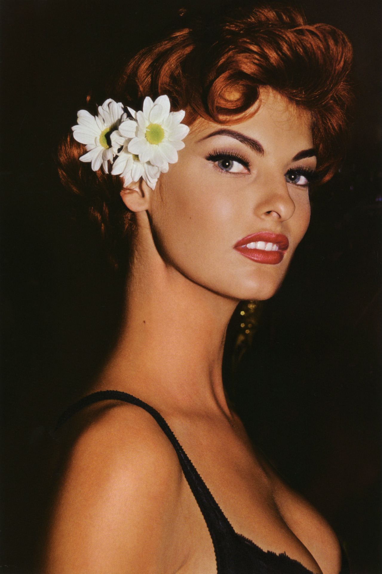 Linda Evangelista Covers The 35th Anniversary Issue Of: Linda Evangelista Supermodel