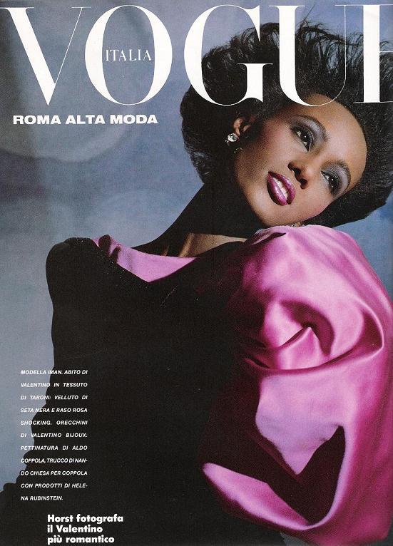 Vogue Iman 1983