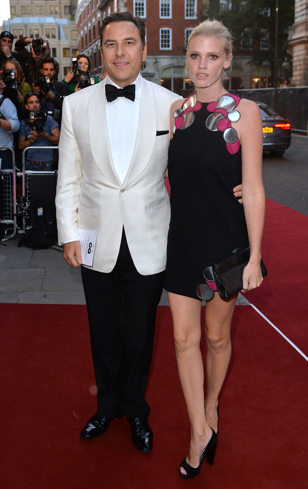 David Williams and Lara Stone