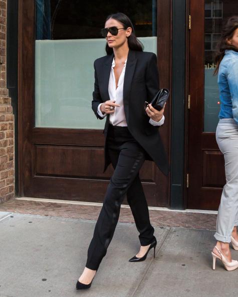Celebrity Sightings In New York City - September 18, 2014
