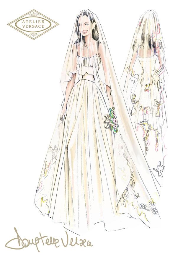 Angelina-Jolie-Atelier-Versace-wedding-gown