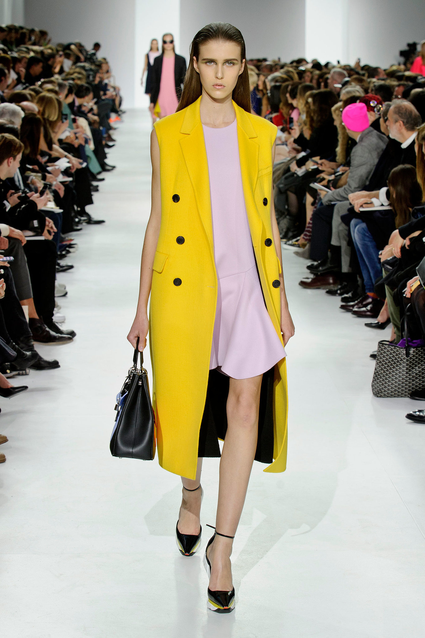 Look Of The Day Christian Dior Fall Winter 2014 Collection Fashionsizzle