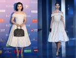 Fan Bingbing in  Ralph & Russo Couture   At  The  2014 Bazaar Charity Night