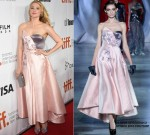"Haley Bennett in Ulyana Sergeenko Couture at ""The Equalizer"" 2014 TIFF Premiere"