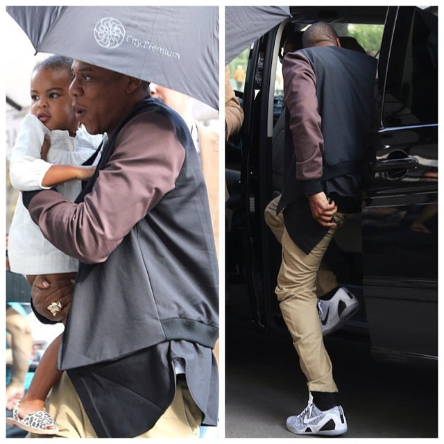 Jay-Z-wears-31-Phillip-Lim-Detachable-Bomber-Jacket-and-Nike-Kobe-IX-Beethoven-sneakers-shoes-11-Blue-Ivy