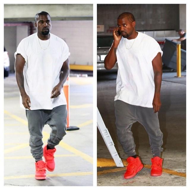 Kanye-West-wears-Yeezus-Tour-Tee-Haider-Ackermann-Sweatpants-and-Nike-Air-Yeezy-2-Sneakers-22