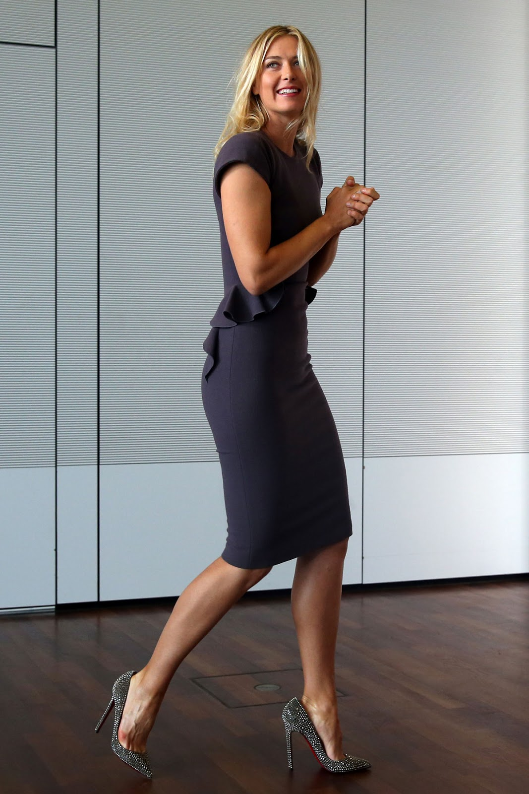 Maria+Sharapova+Unveiled+as+Porsche's+New+Brand+Ambassador+in+Stuttgart+Photos+CelebsNext+0012 Maria Sharapova  Fashion Style