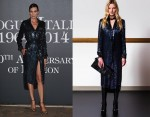 Nieves Alvarez   wears Emilio Pucci  at  Vogue Italia 50th Anniversary