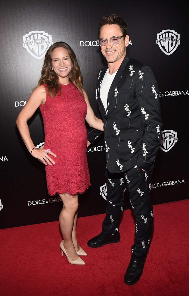 Robert Downey Jr 1  Robert Downey Jr.  in Dior Homme's Lily of the Valley Floral Print Suit