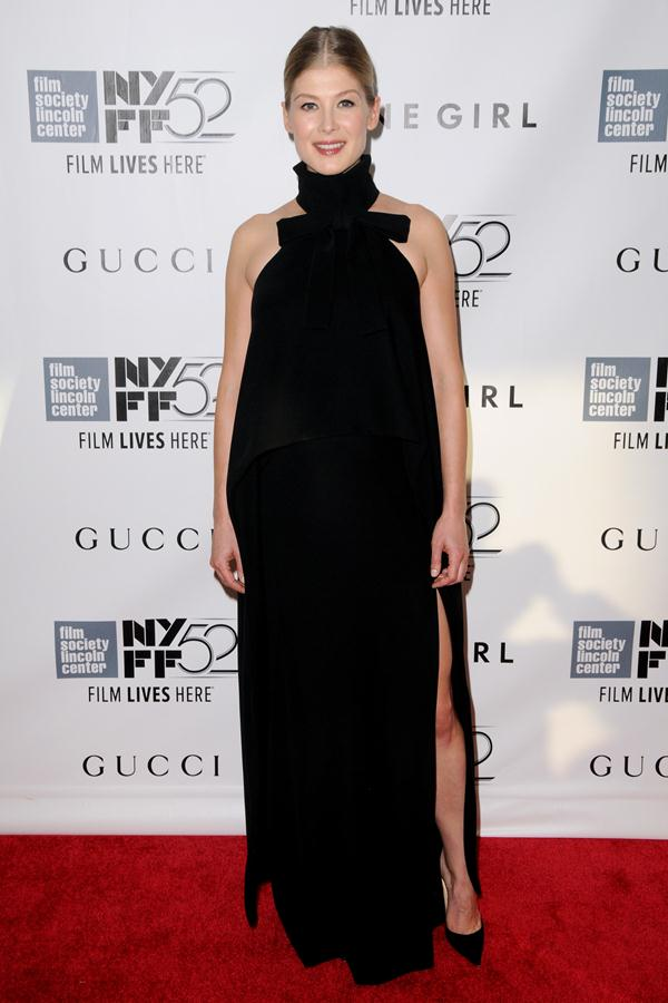 Rosamund Pike gown Gone Girl premiere during the 52nd New York Film Festival Opening Night Gala 4 1 Rosamund Pike wears  Altuzarra at  'Gone Girl' World Premiere