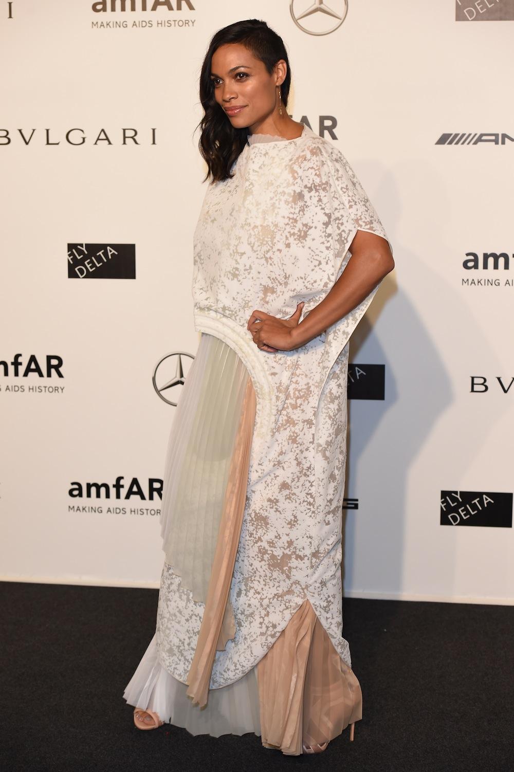 amfAR Milano 2014 - Arrivals - Milan Fashion Week Womenswear Spring/Summer 2015