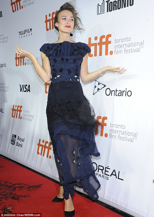 article 0 2141DDD900000578 495 634x894 Keira Knightley at  'Laggies' Toronto Film Festival Premiere wearing  Michael Van Der Ham
