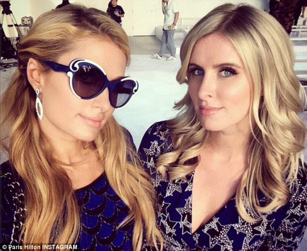 Paris - Hilton -and -Nicky- Hilton - at-NYFW