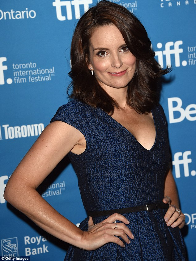 Tina- Fey- In- Temperley- London -at- the 'This- Is- Where -I -Leave -You'- Toronto- Film -Festival- Press- Conference