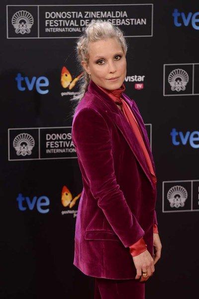 Noomi -Rapace- wears - Emilio -Pucci - at - 'Automata- 'San- Sebastian- Film -Festival