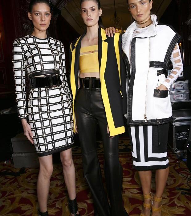 Backstage Fashion Week 2015