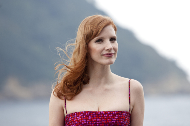 jessica-chastain-dsquared²-disappearance-eleanor-rigby-san-sebastian-film-festival-photocall/