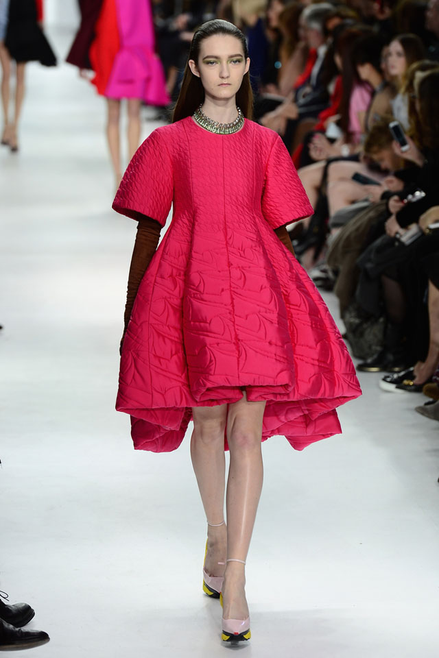 dior 1 LOOK OF THE DAY :   CHRISTIAN DIOR FALL/ WINTER 2014 COLLECTION