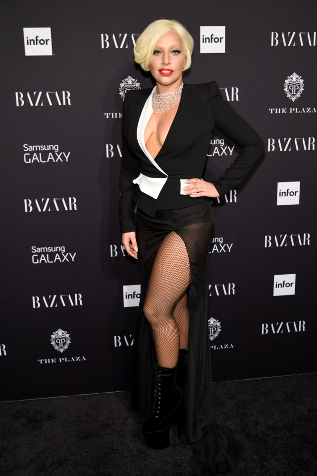 Lady Gaga in Alexandre Vauthier