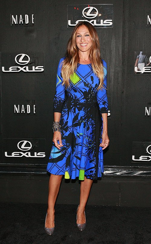 Sarah Jessica Parker wears Preen at The Lexus Design Disrupted Event