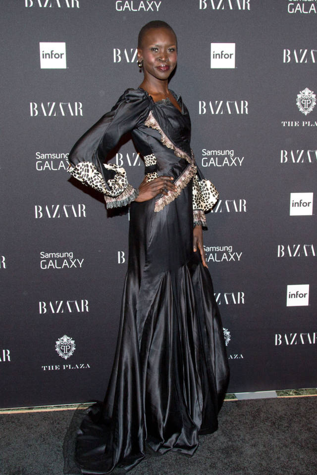 Alex Wek at Harper's Bazaar Icons Event